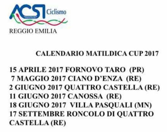 Matildica Cup 2017